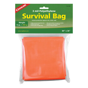 Coghlans Survival Bag grön/orange